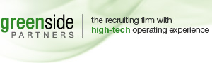 Greenside Partners - the recruiting firm with high-tech operating experience